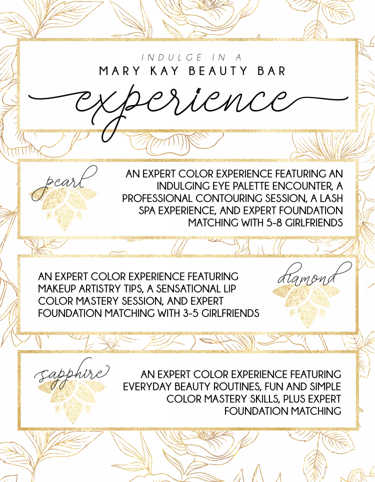 Beauty Experience Color Packages
